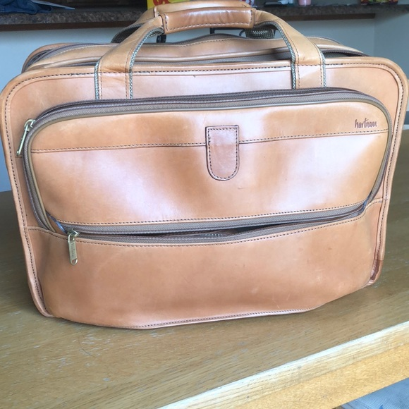 391ea8848 Hartmann Bags | Spacious Vintage Leather Briefcase | Poshmark